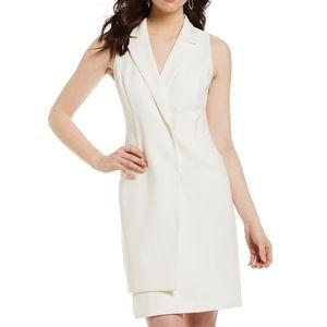 Gianni Bini   Stephanie Blazer Dress White Vest